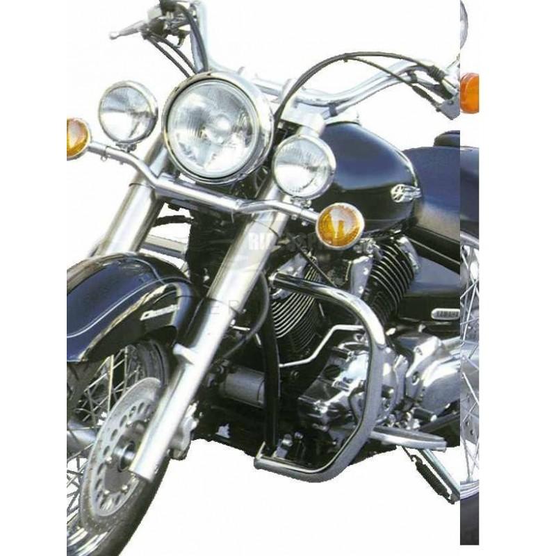 Defensas cromadas spaan Yamaha