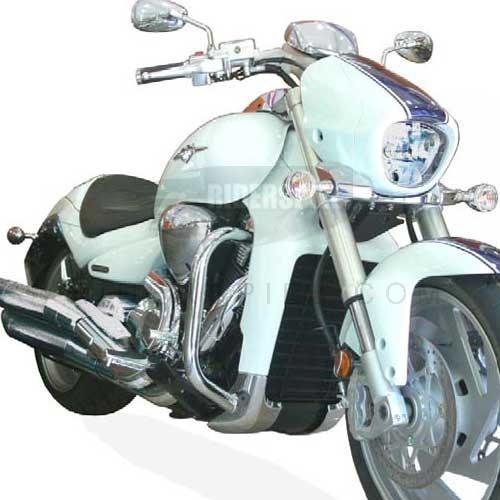 Defensas Spaan Lacadas en color negro Suzuki