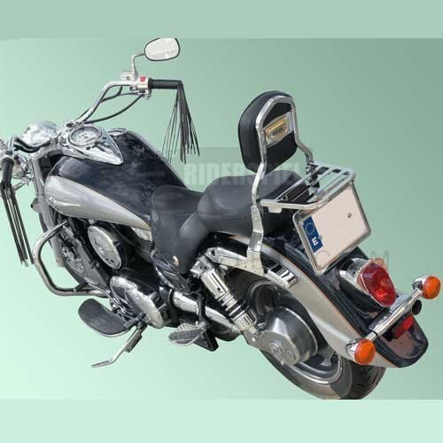 Respaldo cromado Spaan Honda