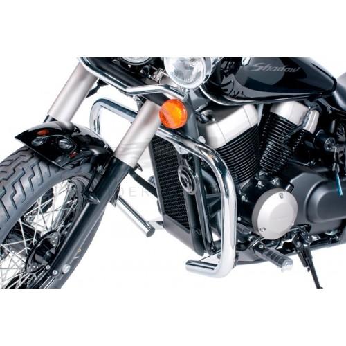Defensas acero inox Honda