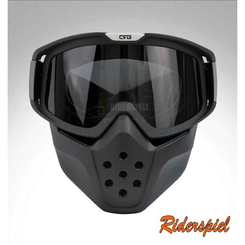 Mascara casco jet